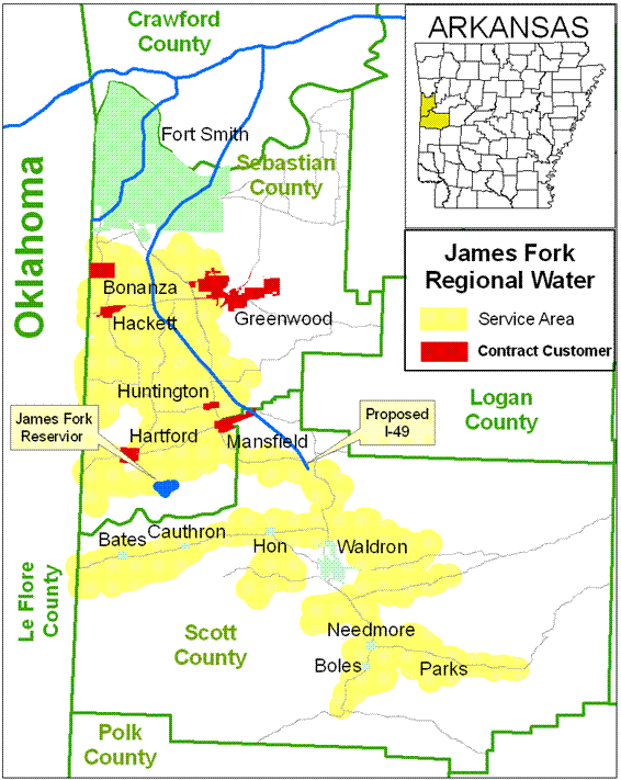 About Us James Fork Regional Water District